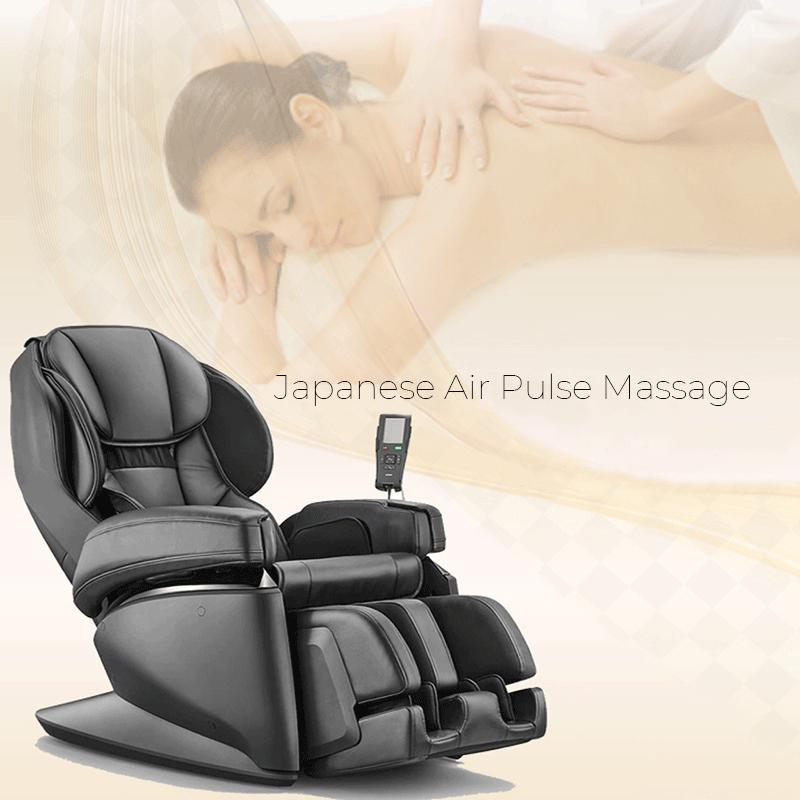 Cutting-Edge Japanese Air Pulse Massage
