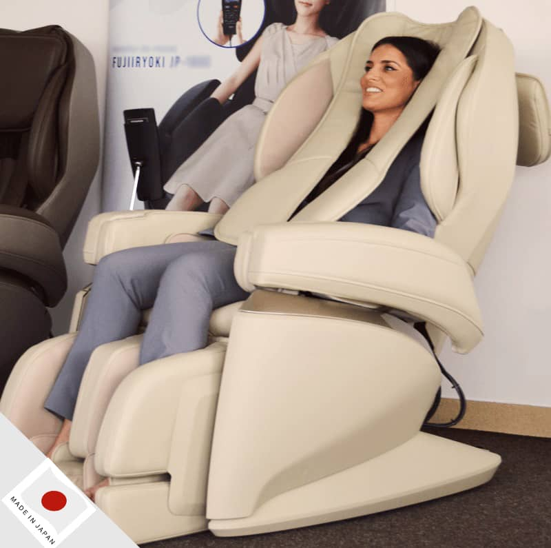 The only showroom in London area with real Japanese made massage chairs